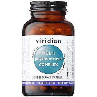 Viridian MultiPhytoNutrient Veg Caps 60 (116)