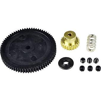 Reely 10484+10323+10474/6 Spare part Cogwheel & transmission set