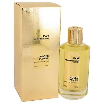 Mancera rozen jasmijn eau de parfum spray door mancera 536901 120 ml