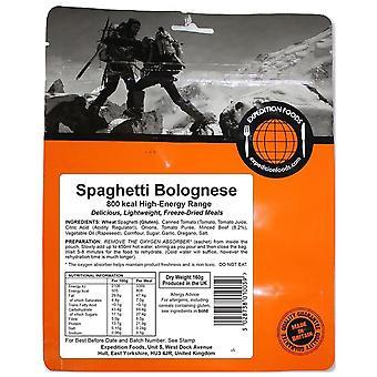 Expedition Foods No Colour Spaghetti Bolognaise