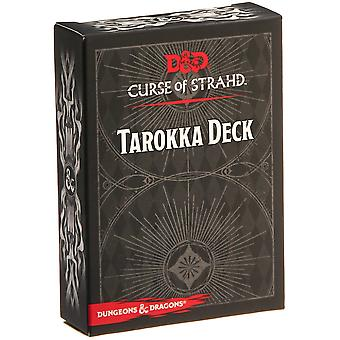 Dungeons & Dragons RPG-Curse of Strahd Tarokka Deck