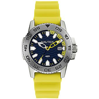 Nautica nsr-20 Quartz Analog Man Watch with NAI12530G Rubber Bracelet