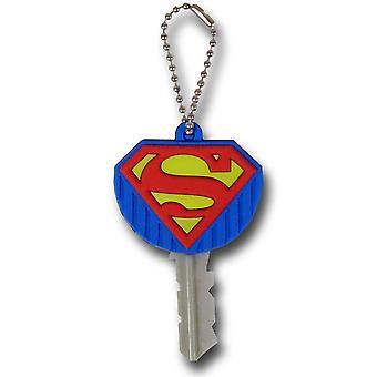 Superman Symbol Soft Touch Keyholder