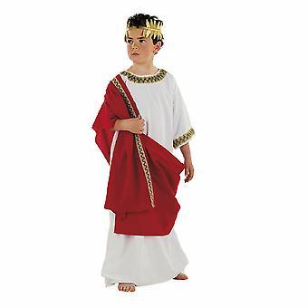 Griekse jongen kostuum Roman Senator Cäsar kind kostuum
