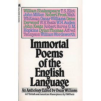 Immortal Poems of the English Language by Oscar Williams - 9780671496