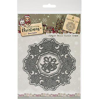 Find It Trading Yvonne Creations Die-Bells Frame, Celebrating Christmas