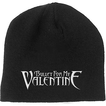 Bullet For My Valentine Beanie Hat Band Logo new Official Black