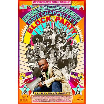 Block Party Original Movie Poster - Single Sided Regular