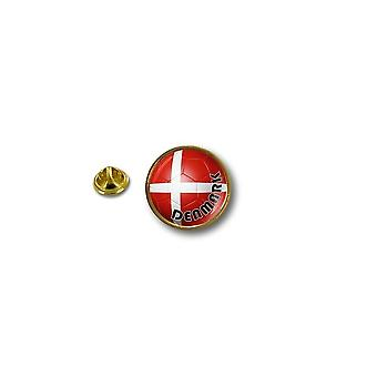 Pins Pin Badge Pin's Metal Biker Motard Drapeau Ballon Foot Danemark