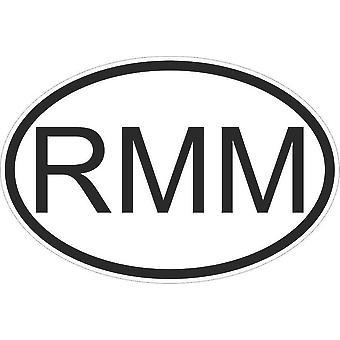 Sticker Sticker Sticker Sticker Flag Oval Code Country Car Moto Mali Malian Rmm