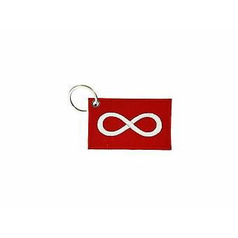 Cle Cles Key Brode Patch Ecusson Badge Flag Red Infinite