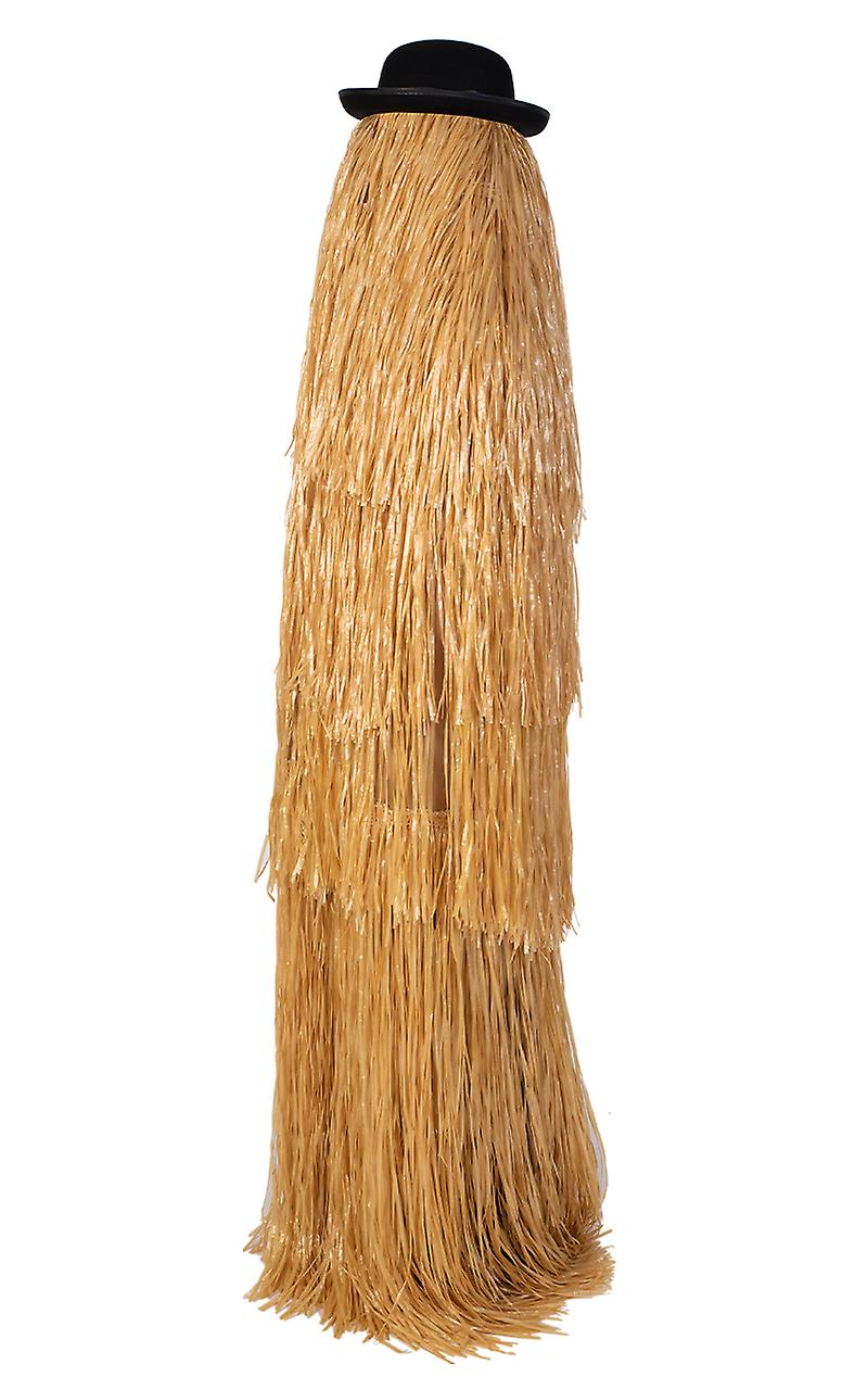 Adult Hairy Cousin Itt Addams Family Halloween Fancy Dress Costume