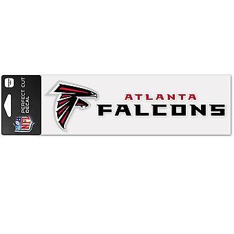 وينكرافت ملصقا 8x25cm -- اتحاد كرة القدم الأميركي اتلانتا الصقور
