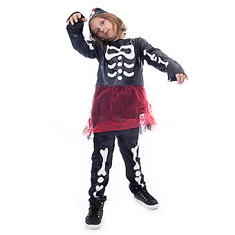 Spooky Skeleton Halloween Costume, Medium