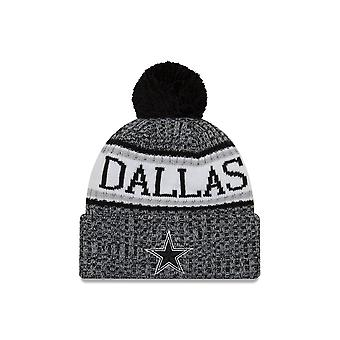 Nowa era Nfl Dallas Cowboys Sideline Graphite Sport Knit