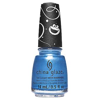 China Glaze Sesame Street 50 Years And Counting 2019 Nail Polish Collection - Me Ate Santa-apos;s Cookies (547111) 14ml