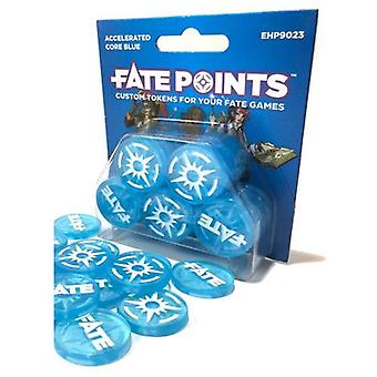 Fate Points Accelerated Core Blue