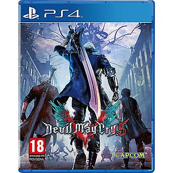 Devil May Cry 5 PS4-spel