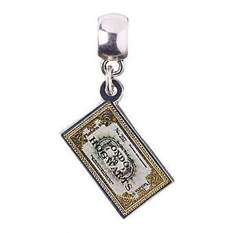 Harry Potter Silver Plated Charm lístok