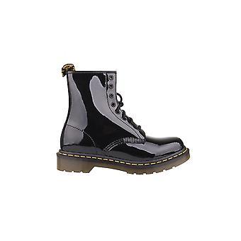 Dr Martens Patente Lamper Negro Noir 11821011 zapatos universales de invierno para mujer