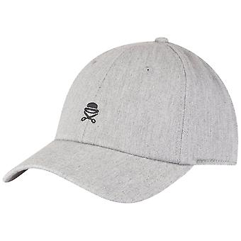Cayler & sons Curved Strapback Cap - ICON heather grey