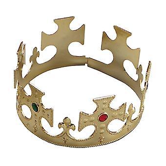 Bristol Novelty Gold Crown Plastic