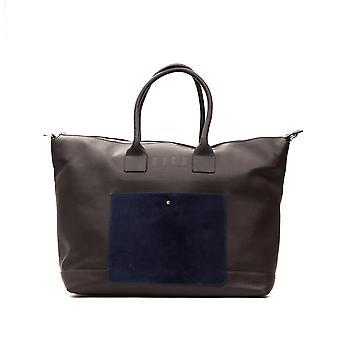 Maroon Rich John Richmond Men's Weekend Bag