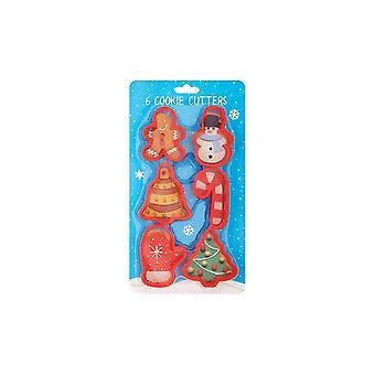 Culpitt Festive Cookie Cutter Set - 6 Peça