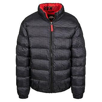 Southpole Men's Winter Jacket Logo AOP