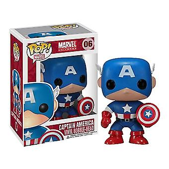 Captain America Pop! Vinyl-Figur