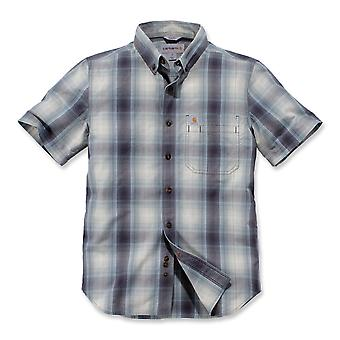 Carhartt Men's Short Sleeve Shirt Essential Plaid