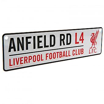 Liverpool FC ufficiale finestra Street Sign