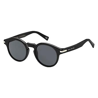 Marc Jacobs Marc 184/S 807/IR Black/Grey-Blue Sunglasses