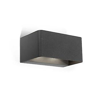 Leds-C4 Wilson - Outdoor LED Up Down Wall Light Urban Grey 1710lm 3000K IP65 - 05-9684-Z5-CL