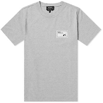 A.p.c A.P.C Patch Logo Pepper T-Shirt