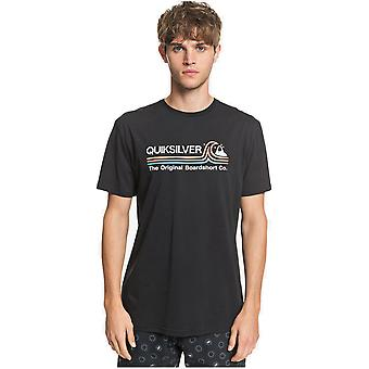 Quiksilver Stone Cold Classic Short Sleeve T-Shirt in Black