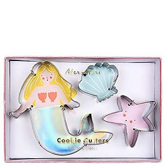 Meri Meri Mermaid Shell Starfish havet Cookie Cutters x 3