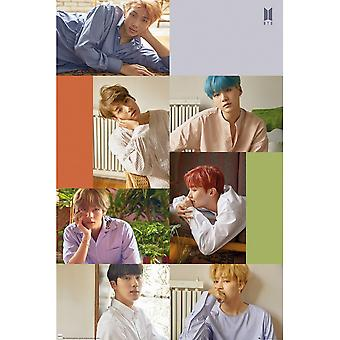 BTS Collage Poster