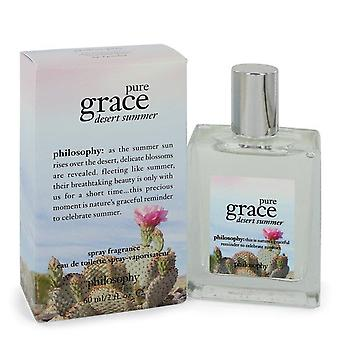 Pure grace desert summer eau de toilette spray by philosophy 549380 60 ml
