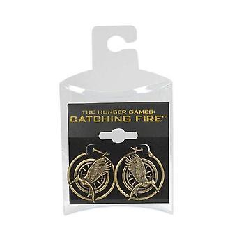 Hunger Games Volwassenen Unisex Mockingjay Hoop Oorbellen