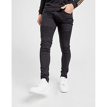 Nieuwe Supply & vraag mannen ' s Anarchy jeans zwart