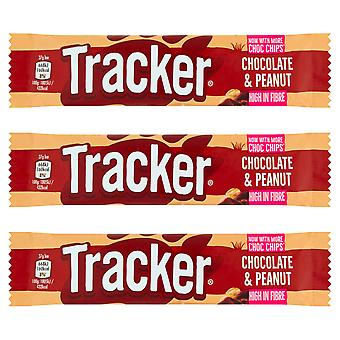 12 x Tracker Chocolate & Peanut Snack Bar, Chocolate & Peanut, 12 x 37g Bars, 999953-CHOCPEANT