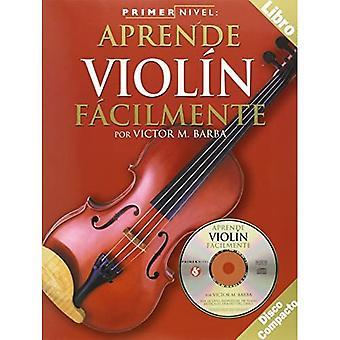 Aprende Violin Facilmente [With CD] (Primer Nivel)