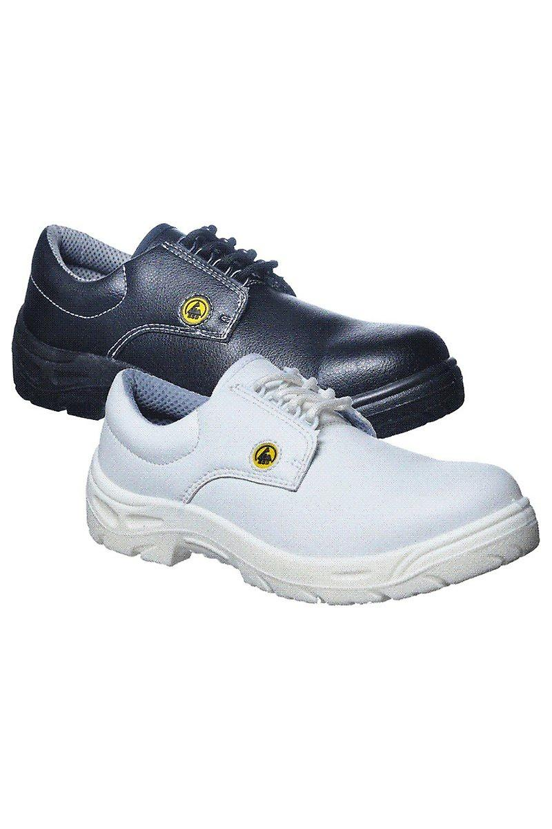 Portwest Compositelite Esd Laced Workwear Safety Shoe S2 Fc01