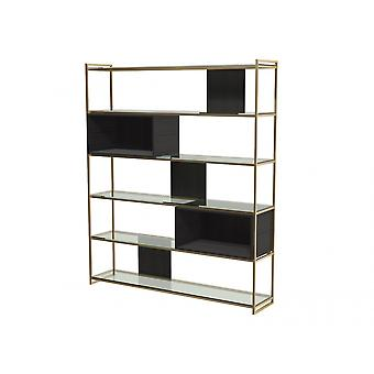 Gillmore Luxe - High Bookcase In Various Oak Stains And Frame Finishes