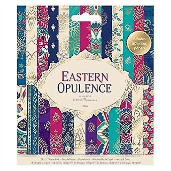 Papermania Eastern Opulence 6x6 Inch Paper Pad