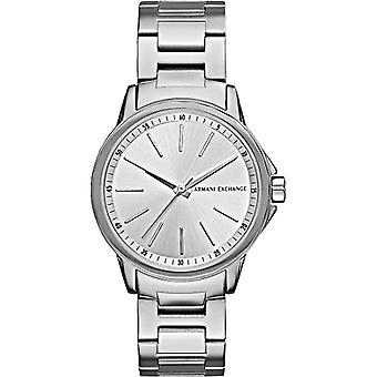 Armani Exchange Ladies Quartz analogue watch with stainless steel band AX4345