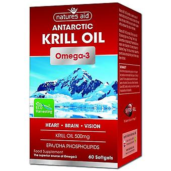 Nature-apos;s Aid Krill Oil 500mg Softgels 60 (129820)
