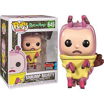 Rick ja Morty Katkarapu Morty NYCC 2019 USA Paitsi Pop! Vinyyli