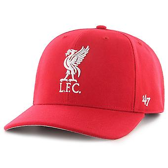 47 Brand Low Profile Snapback Cap - ZONE FC Liverpool rot